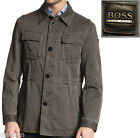 NWT Hugo Boss Black Label By Hugo Boss Linen-blend Military Jacket