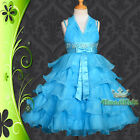 Wedding Flower Girls Bridesmaid Party Occasion Holiday Dress Up Sz 3-8 FG131A