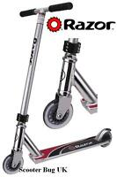 Razor pro stunt scooter. Silver low rider childs push scooter