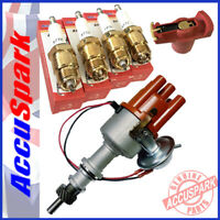 Ford Cortina with Pinto engine Stealth Electronic Distributor  Red Rotor+Plugs