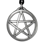 Large Wiccan Pentacle Necklace Pagan Jewelry Magic Talisman Protection Amulet