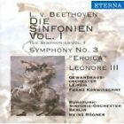 """Beethoven: Symphonies Vol. 1 No. 3 """"Eroica"""" (CD, Made in Germany) New Unsealed"""