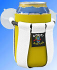 Grippit Boat PWC Jetski ATV Scooter RV Drink Holder Cup Holder Suction Cup WHITE