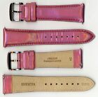 Invicta Genuine Unisex 24mm Pink Pearlized Shiny Leather Watch Strap IS315 NEW!