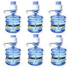 WHOLESALE!! LOT OF (6) 5 TO 6 GALLON DRINKING WATER HAND PUMP FOR BOTTLE WATER