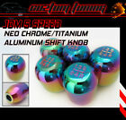 94 95 96 97 ACURA INTEGRA LS RS GSR SHIFT KNOB JDM STYLE NEO CHROME COLOR