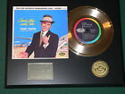 Frank Sinatra - Come Fly With Me - 24k Gold Record Display - Free USA Shipping