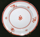 Spode Copeland Gloucester Red Fine Stone Dinner Plate 10 1/8 Inches Excellent!