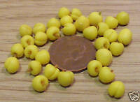 1:12 Scale 7x Yellow Peaches Dolls House Miniature Food Fruit Accessory