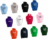 PERSONALISED HOODY CUSTOM PRINTED HOODED SWEATSHIRT STAG TEAM SPECIAL EVENTS
