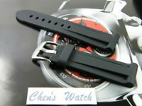 26MM HQ DIVE RUBBER WATCH BAND STRAP FOR PANERAI 26/47 MM