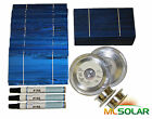 1KW WHOLE 3x6 Solar Cells DIY KIT TAB Wire, BUS, FLUX