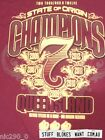 Ladies Queensland State of Origin 2012 7 Seven in a Row Tee Shirt QLD Maroons