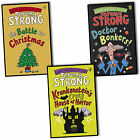Jeremy Strong Laugh Your Socks Off With 3 Books Collection Doctor Bonkers New