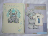 GRANDSON HAPPY BIRTHDAY CARD ME TO YOU TATTY TEDDY CARTE BLANCHE CUTE 2 DESIGNS