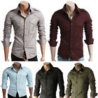 New Men's Charming Collection of Slim FIt Dress Casual Shirts