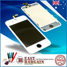 For iPhone 4 White Digitizer LCD+Touch Glass Screen Replacement Repair Kit+Tools