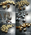 Studs,Rivets,Spike,Cone,Punk,Goth,Biker,Shoes,Bags,Leather,Jacket,Clothing,Craft
