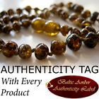 Earth Honey BALTIC AMBER Baby Teething NECKLACE AGbA® Certified