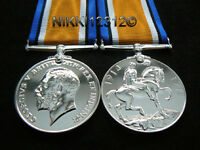 FULL SIZE WW1 BRITISH WAR MEDAL REPLACEMENT COPY MEDAL