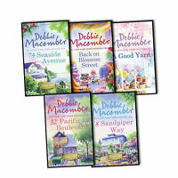 Debbie Macomber 5 Books Collection Pack Set A Good Yarn Back on Blossom Street