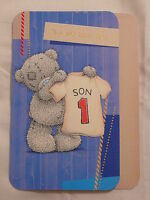 SON ON YOUR BIRTHDAY CARD ME TO YOU TATTY TEDDY CARTE BLANCHE CUTE