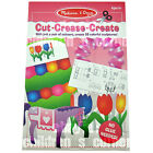 Newest!  Melissa & Doug - Cut Crease Create Paper-Cutting Pad - Pink # 4231