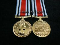 MINIATURE SPECIAL CONSTABULARY LONG SERVICE GOOD CONDUCT MEDAL LSGC EIIR