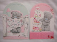 GRANDDAUGHTER HAPPY BIRTHDAY CARD  ME TO YOU TATTY TEDDY CARTE BLANCHE