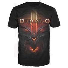 Diablo 3 III Video Game All Over Face Licensed Tee Shirt Adult Sizes S-2XL