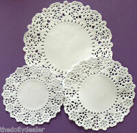DAISY CHAIN ASSORTED SIZES PAPER LACE DOILIES X 30 AS SEEN ON CREATE & CRAFT TV