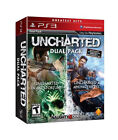 PS3 Uncharted 1 & 2 Dual Pack : Drake's Fortune/Among Thieves PlayStation3 *NEW*