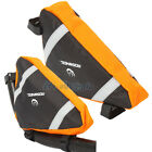 Cycling Triangle Bag Front Tube Frame Pouch Bicycle Bike Saddle Bag Orange