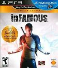 NEW inFAMOUS Collection PS3 2 Full Games Festival of Blood