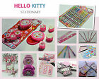 HELLO KITTY Stationary Items-Multi Variety Listing-FREE GIFT-FREE SHIPPING