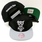 NFL Oakland Raiders Mitchell and Ness AFL Retro Vintage Snapback Cap Hat M&N NEW