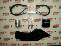 Genuine Ducati Spare Parts Full Service Kit, Timing Belts, 998 BP S R Final Ed.