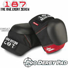 187 KILLER Pro Derby Knee Pads Roller Derby Protection Black/Red S M L XL