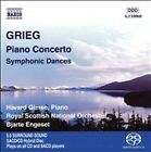 Grieg: Piano Concerto; Symphonic Dances [Super Audio Hybrid CD] NEW SEALED SACD