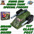 KUNG ZHU RHINO TANK SPECIAL FORCES BNIB 1ST CLASS POST PET - HAMSTER NOT INC.