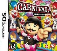 Carnival Midway Family Games Nintendo DS/Lite/DSi/XL/3DS NEW