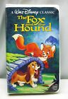 THE FOX and THE HOUND VHS, 1994 Video DISNEY Clamshell Movie BLACK DIAMOND!