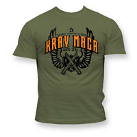 T-Shirt MMA. KRAV MAGA. Ideal for Gym,Training,MMA Fighters,Sport,Casual wears!