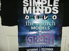 Simple Minds - Day on the Green Australian Tour Poster