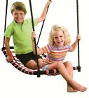 NEW Strap Arch Hammock Swing Black/Red Cubby Playground Accessories Outdoor Toys