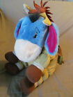 "13"" DISNEY STORE EXCLUSIVE WINNIE THE POOH ""EEYORE AS BULLSEYE"" PLUSH IN EUC"