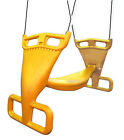 Back to Back Swing YELLOW glider playground double cubby treehouse swing AC50