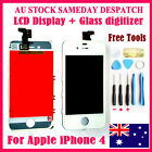 For OEM White iPhone 4 4G LCD Digitizer Touch Screen Glass Display Assembly lens