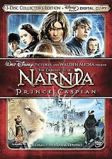 The Chronicles of Narnia: Prince Caspian (DVD, 2008) 3 Disc includes Digital NEW