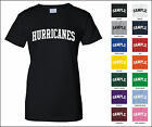 Hurricanes College Letter Woman's T-shirt